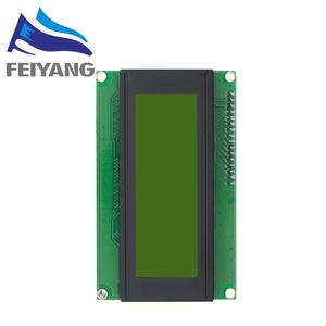 Image 4 - 10pcs 20x4 LCD Modules 2004 LCD Module with LED Blue Backlight White Character/Yellow green
