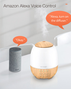 Image 3 - BlitzWolf BW FUN3 Wi Fi Essential Oil Diffuser Ultrasonic Aromatherapy Humidifier APP Control Home Control  7 Colorful Light