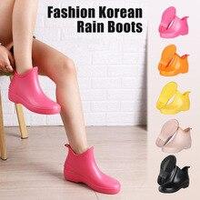 Lizeruee/женские непромокаемые сапоги ярких цветов; женские ботильоны; женские резиновые сапоги; обувь для девочек; резиновые сапоги; зимняя обувь для дождливой погоды