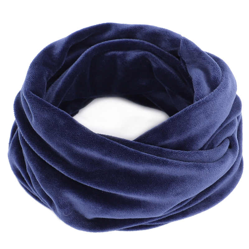 Unisex Beanie Hats Ski Snood Scarf Women Men Thermal Fleece Scarf Snood Neck Warmer Face Mask Winter 2019 1PC 3in1