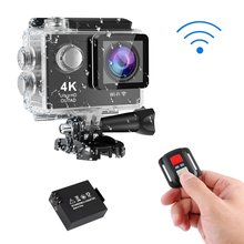 цена на 12MP 4K Ultra HD Wifi 30M Waterproof Action Camera 2 LTPS LCD Sports Camera 12.0 MP 170degrees Lens Angle HDMI Output Compact