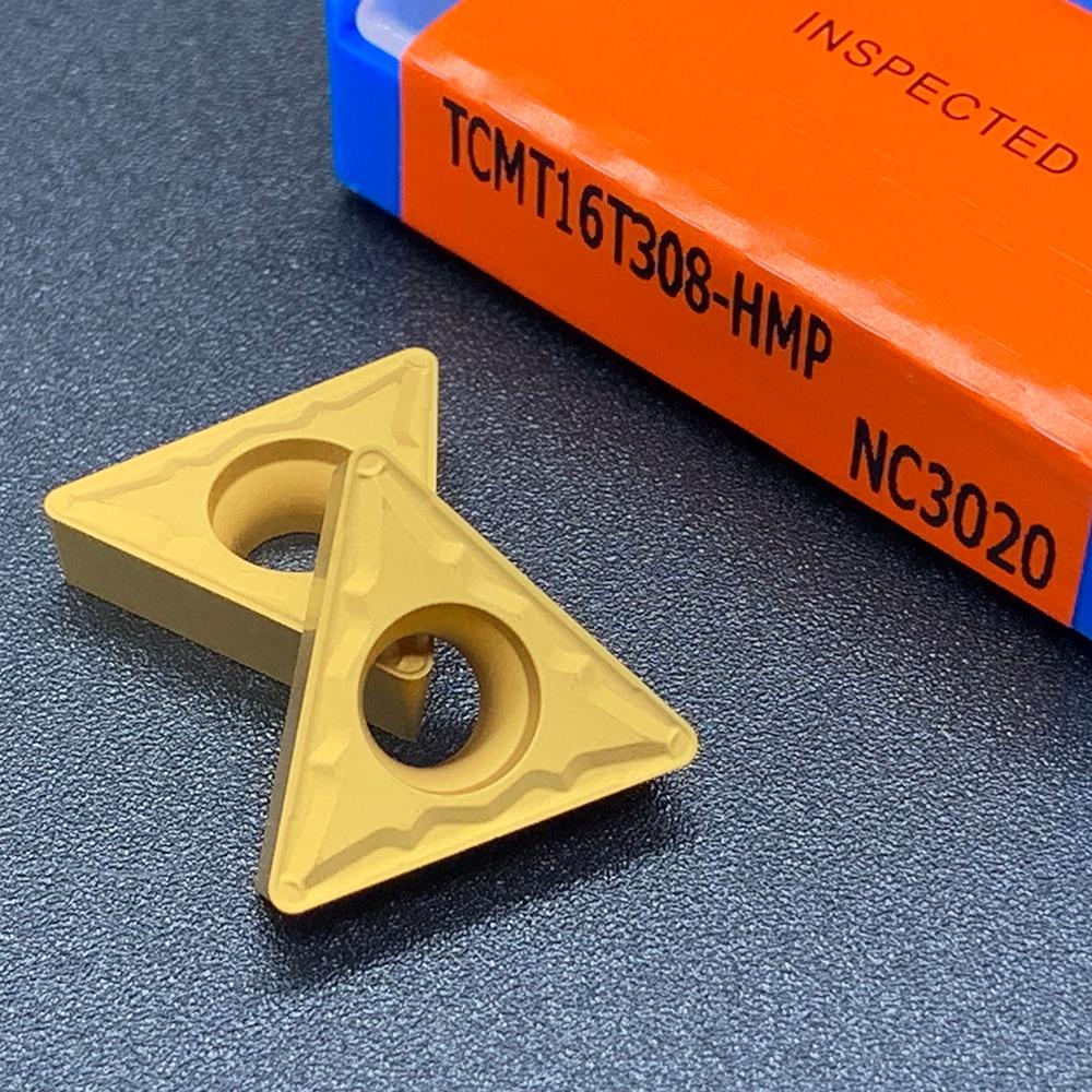 Купить с кэшбэком Blade TCMT16T304 TCMT16T308 HMP NC3020 100% Original High Quality Internal Turning Tool Carbide Insert Lathe Tools For Steel