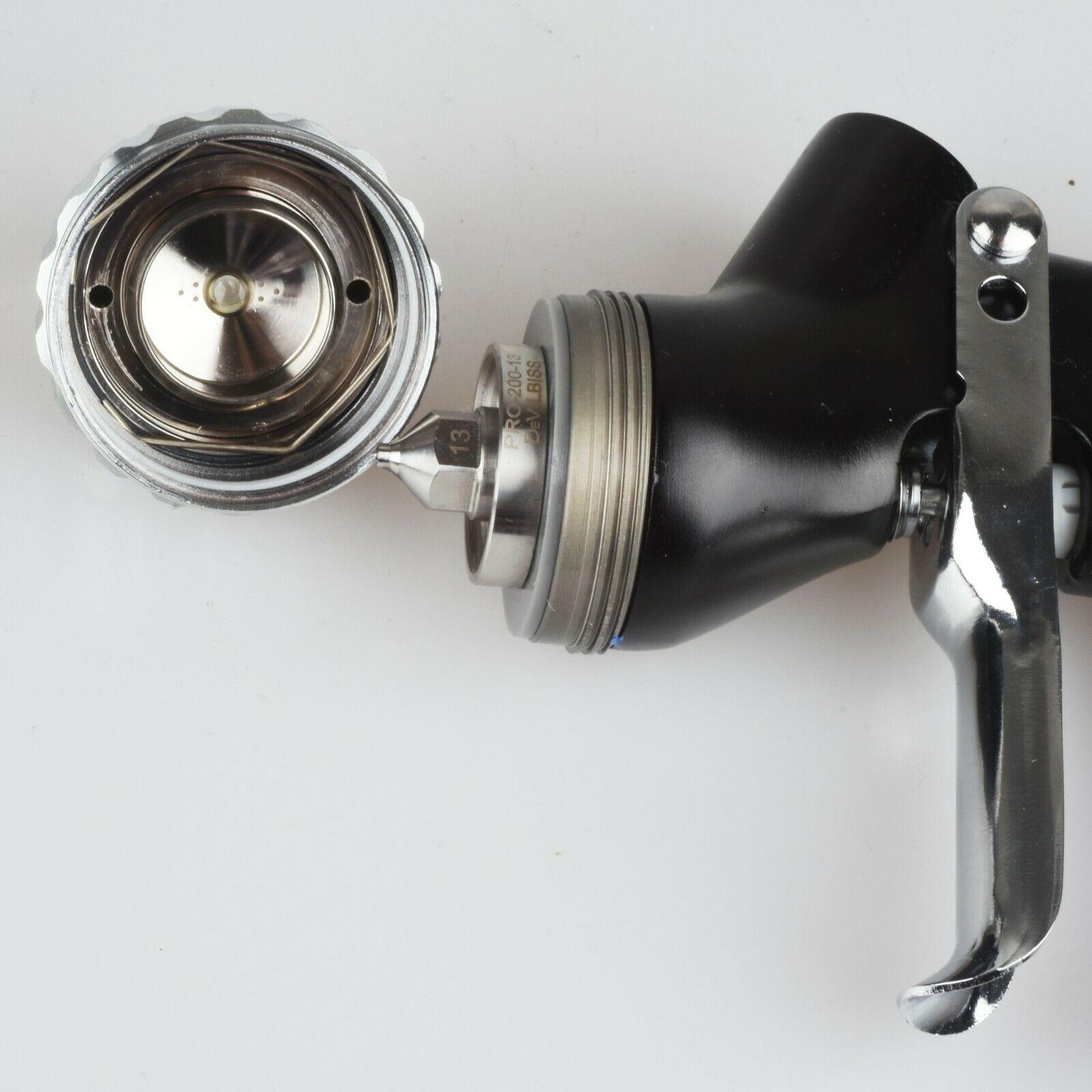 Tools : New pneumatic gun Sprayer GTI PRO LITE 1 3 1 4 nozzle w t Tank Car Paint gun Tool Pistol Spray Gun environmental protection