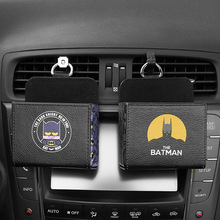 Car air outlet compartment car storage box multi-function mobile phone hanging bag