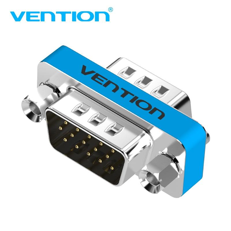Vention VGA Coupler 15 Pin VGA Adapter HD15 VGA Converter Connector For PC TV SVGA Adaptor