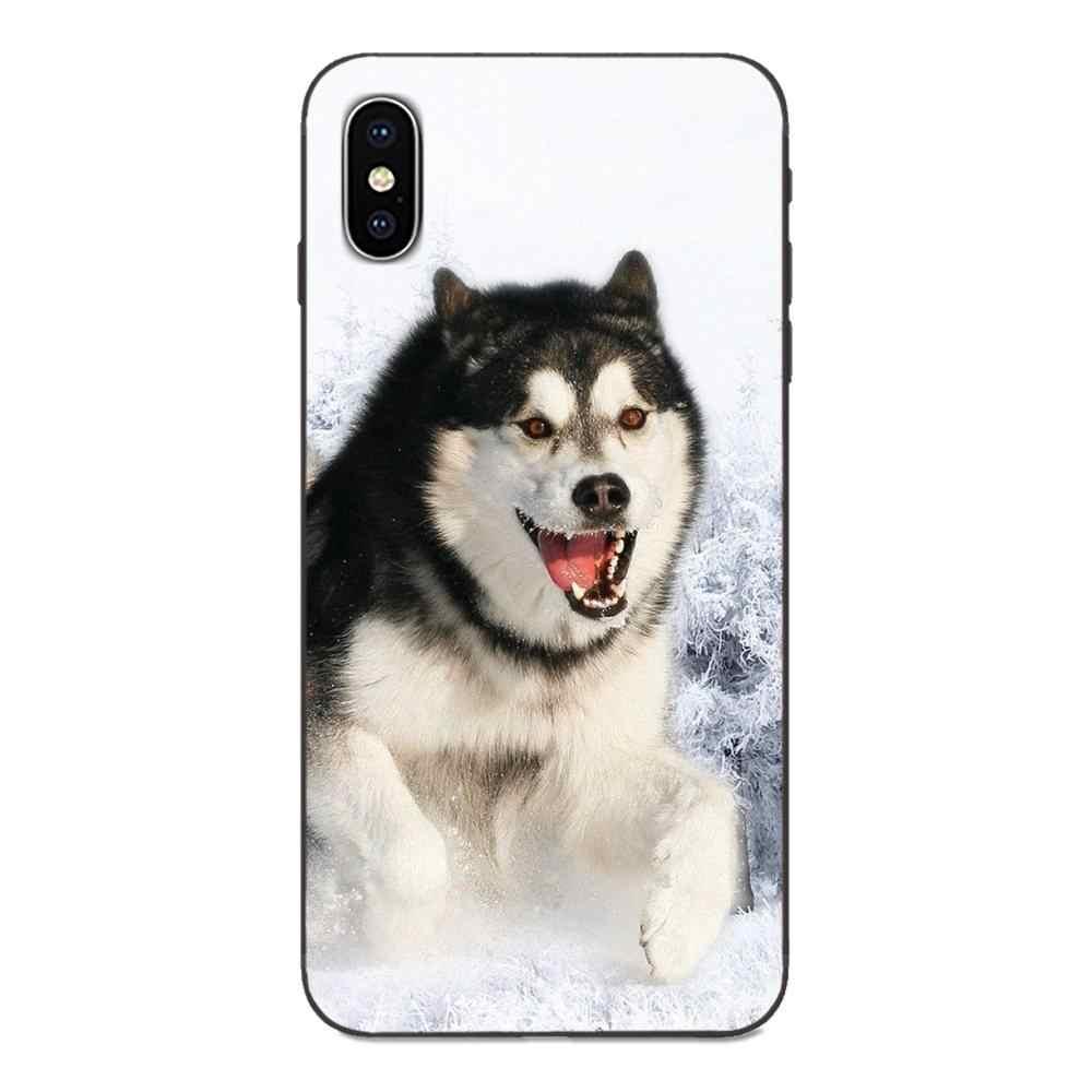 Động Vật Thú Con Chó Con Chó Con Huawei Nova 2 2S 3i 4 4E 5 I Y3 Y5 II Y6 Y7 Y9 Lite plus Prime Pro 2017 2018 2019 Mềm Mại Họa Tiết Hoa Văn