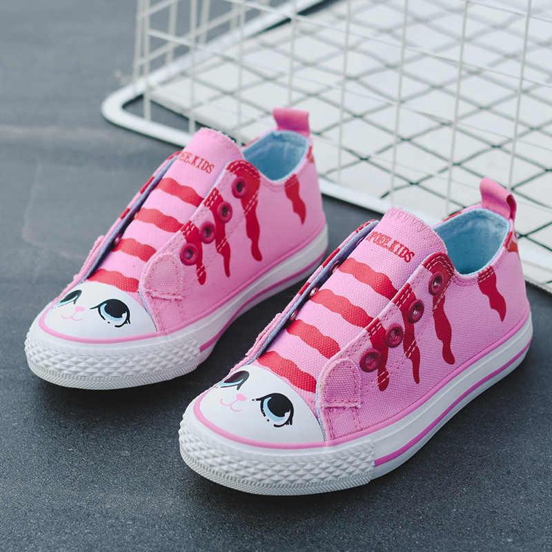 Unisex เด็กรองเท้าเด็กชายหญิงรองเท้าผ้าใบกีฬารองเท้าวิ่งรองเท้า Breathable เด็กวัยหัดเดินรองเท้าสัตว์น่ารัก tenis infantil