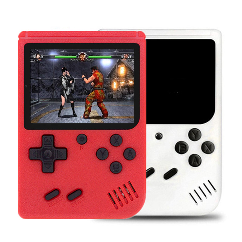 """2019 Hot Console Gamepad 400 In 1 Games 8-Bit Video Game Console 3.0"""" LCD Screen Retro Handheld Nes Game Player TV Out Function"""