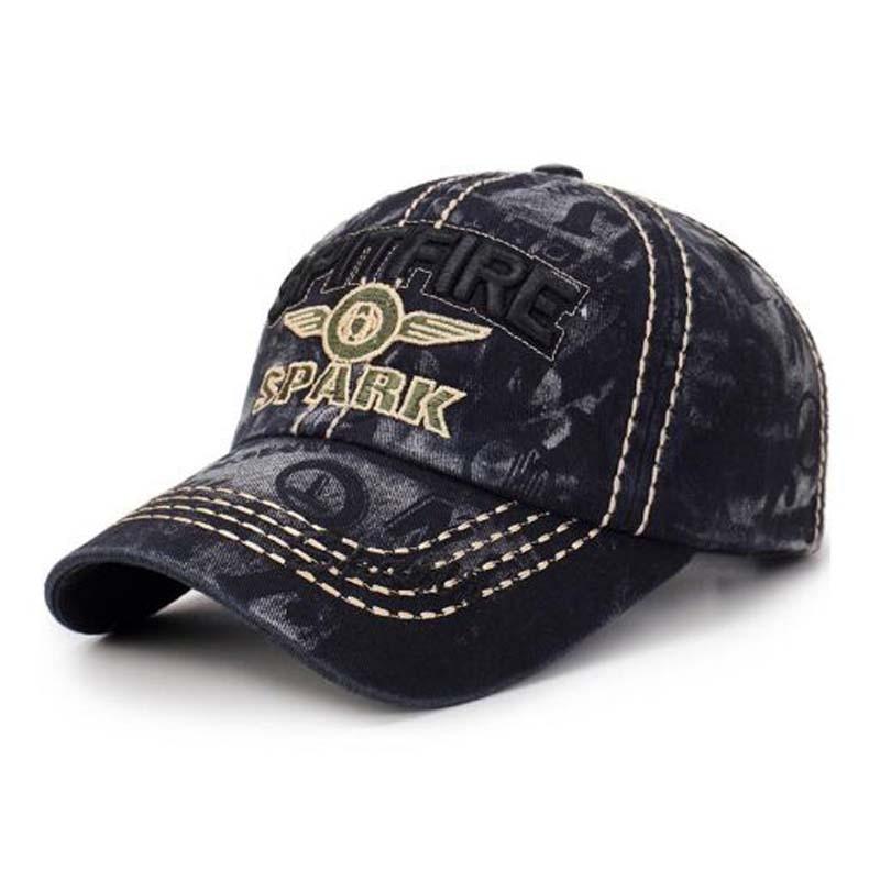 XEONGKVI Korean Washing Cowboy   Baseball     Cap   Spring Autumn Brand Snapback Embroidery Letters Peaked Hat For Women Men Casquette
