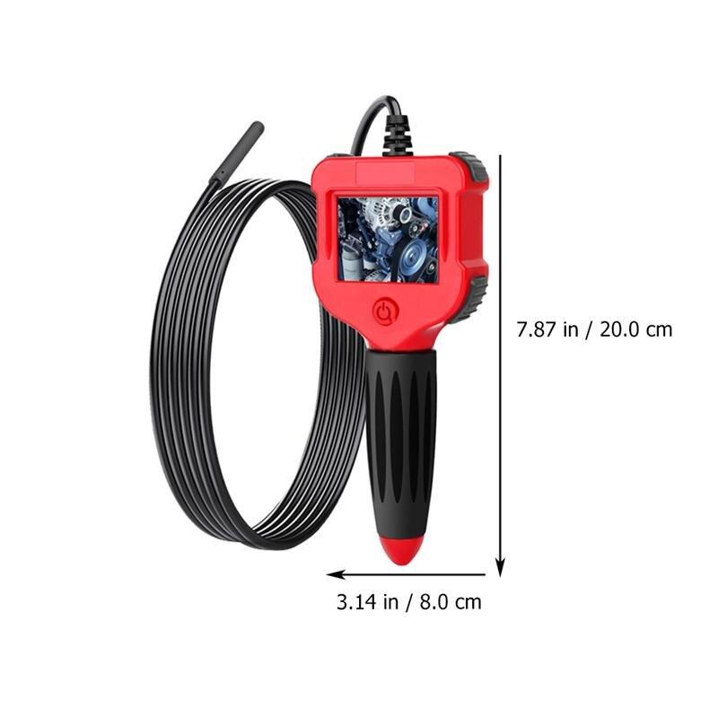3 Set Waterproof 1 Borescope Industrial Inspection Camera Endoscope 5m 1 5 5mm Digital