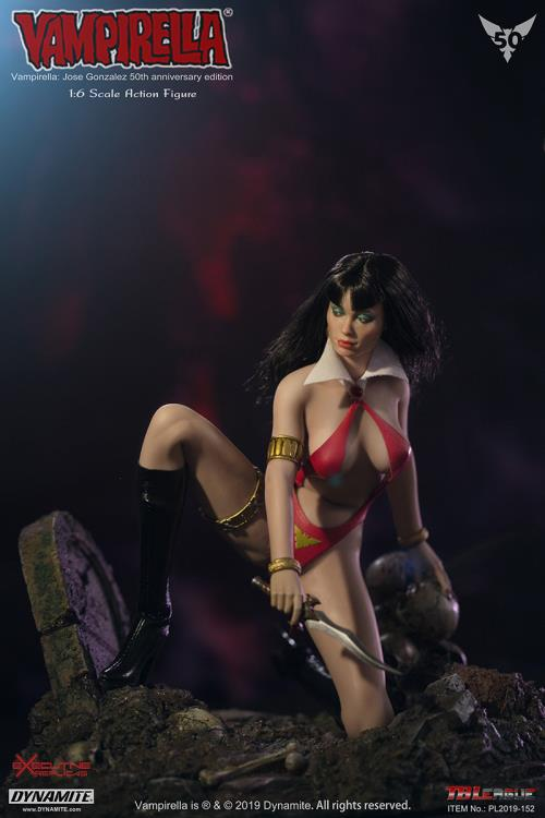 1/6 Vampirella 50th Anniversary Edition Solider Figure TBLeague PL2019-152 Model