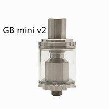 Autentico YUHETEC GB Mini V2 RTA Serbatoio FAI DA TE Atomizzatore 3.5ML VS Goblin Ricostruibile Mini V2 RTA