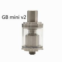 本物 yuhetec ギガバイトミニ V2 rta rebuildable タンク diy アトマイザー 3.5 ミリリットル対ゴブリンミニ V2 rta