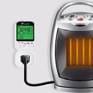 Image 4 - Thermostat Timer Switch, Houzetek 20 ON/OFF Programmer Digital Timer Automatic Temperature Electric Socket US Plug
