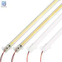 LED Kitche Light LED Bar Light 7W 30cm 50cm Clear Shell Milky White Shell White Warm White Day White 220V For Kitchen Lighting W