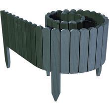 Изысканное зеленое украшение для сада деревянная прочная ограда