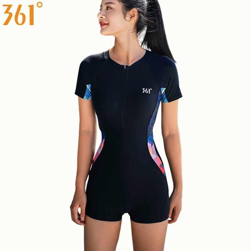 361 Wanita Ruam Penjaga Baju Renang Atletik Klor Tahan Satu Potong Berenang Memakai Surfing Olahraga Anak Perempuan Baju Renang Wanita Baju Renang