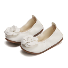 Child soft sole Flat shoes for ballet shoes girls new girl Flower shape flat shoes for kids toddler shoes chaussure fille ZH97