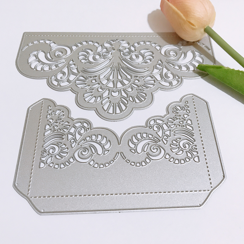 Flower shape Metal Cutting Dies New 2018 Crafts Die Cuts For DIY Scrapbooking Paper Cards Decorations Embossing Art in Cutting Dies from Home Garden