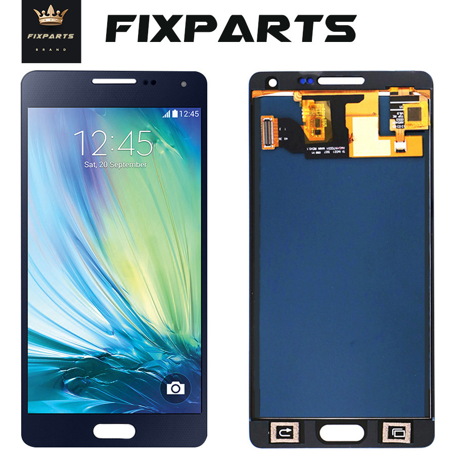 For <font><b>SAMSUNG</b></font> GALAXY A5 2015 A500 A500F A500M <font><b>A500FU</b></font> LCD Display Touch Screen Digitizer Assembly Replacement For <font><b>SAMSUNG</b></font> A500 LCD image