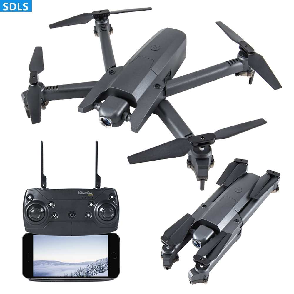 Mini Drone 4K HD Wifi FPV Camera Quadcopter Foldable RC Helicopter Optical Flow Positioning Toys Selfie Beauty Video/Photo Dron