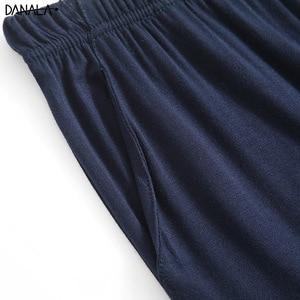 Image 5 - DANALA Men Sleepwear Sets Winter Autumn Soft Warm Modal Pajamas Long Sleeve O Neck Casual Male Pyjamas Home Clothes For Men