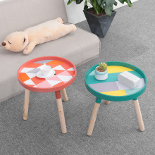 все цены на Strongwell Nordic Fresh Mini Coffee Table Cafe Wood Low Small Table Living Room Tables Coffee Side Tables Furniture Round Table онлайн