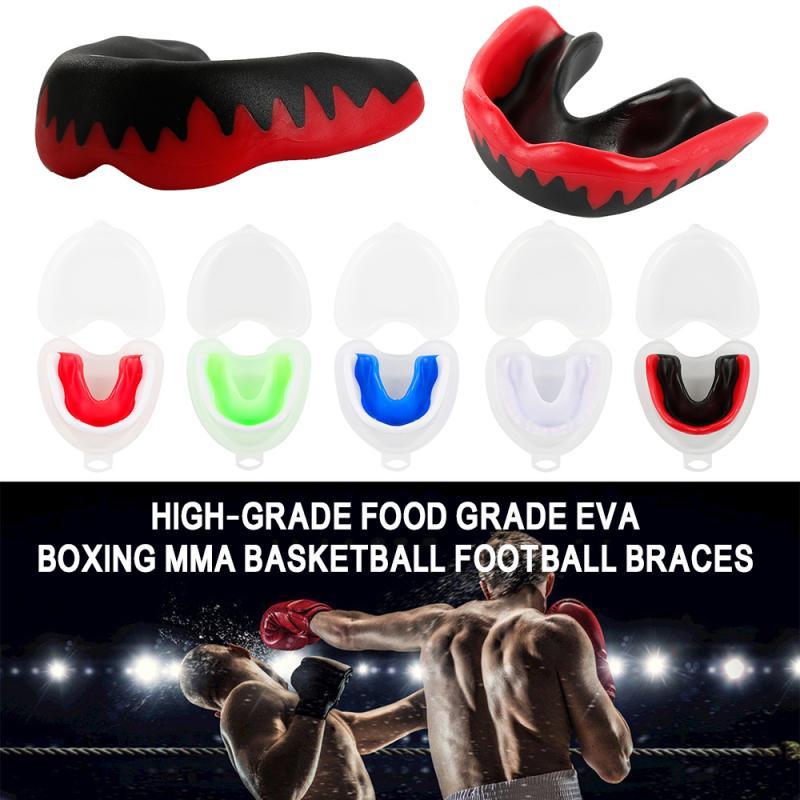 Soft EVA Adult Mouth Guard Teeth Protector Mouthguard For Jiu Jitsu Judo MMA BJJ