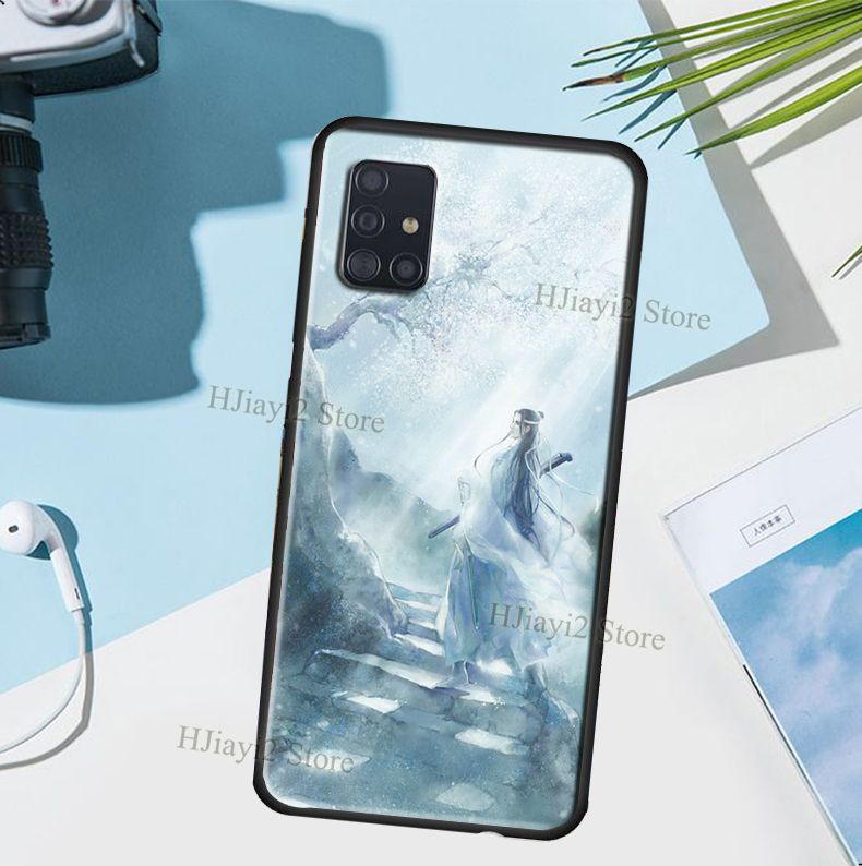 Mo Dao Zu Shi Anime Case For Samsung Galaxy A50 A70 A51 A71 A40 A30S A20 A7 Note 10 S8 S10 S9 Plus S20 Ultra