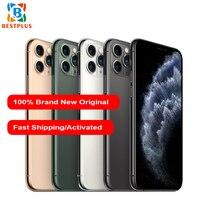 Brand New Apple iphone 11 pro max A2218 Mobile Phone 6.5 4GB RAM 64/256/512GB ROM Hexa coreTriple Rear Camera Smart Phone