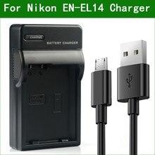 Chargeur de batterie d'appareil photo numérique, pour Nikon COOLPIX P7000 P7100 P7700 P7800 D3100 D3200