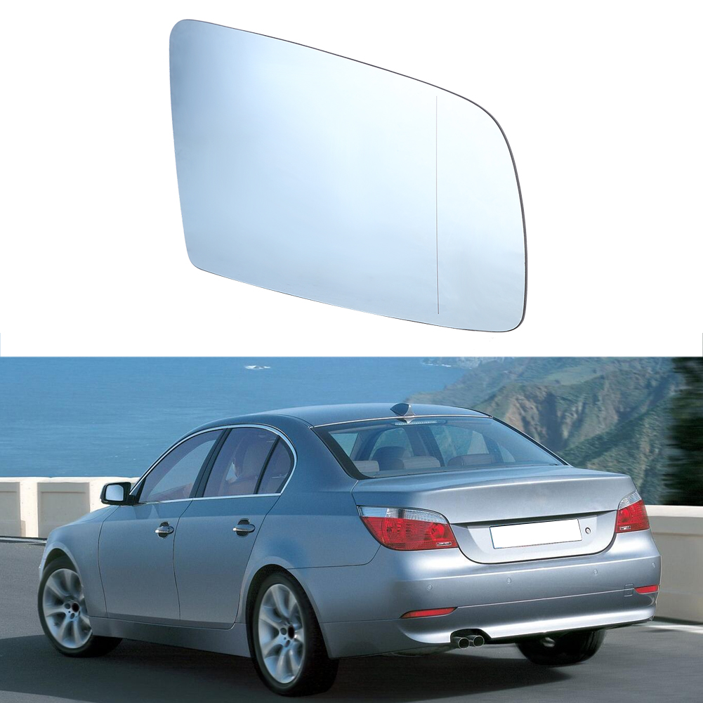 Driver Heated Electric Wing Mirror Glass for BMW 6 E63 E64 2004-2011