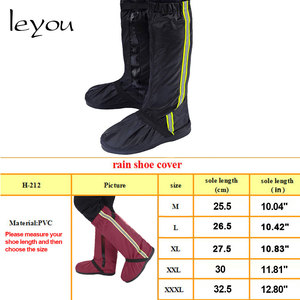 Image 5 - Unix Reusable Rain Cover For Shoes Rain Shoes Cover Boots Waterproof Motorcycle Rain Shoes Cover Non Slip Rainproof Boots