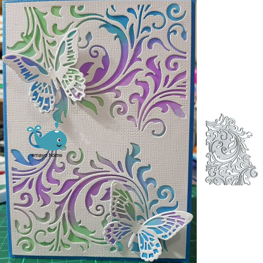 Background Metal Cutting Dies Cut Die Mold Lace  Frame Scrapbook Paper Craft Knife Mould Blade Punch Stencils Dies