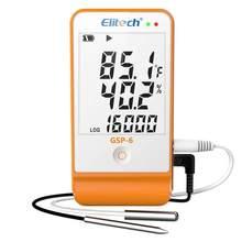 Elitech RC-5 usb temperatura registrador de dados registrador GSP-6 temperatura umidade data registador 2 sensor de temperatura sondas