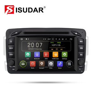 Isudar Car Multimedia player Android 9 2 Din GPS Autoradio For Mercedes/Benz/CLK/W209/W203/W208/W463/Vaneo/Viano/Vito FM DSP DVR(China)