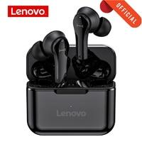 Original Lenovo QT82 Ture Drahtlose Ohrhörer Touch Control Bluetooth Kopfhörer Stereo HD Reden Mit Mic drahtlose kopfhörer QT82