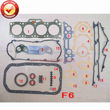 F6 Engine Full gasket kit for MAZDA 626 III Mk II CAPELLA III II 1.6L F601-99-100D F601-99-100 F601-99-100 50075300 F60199100C image
