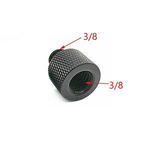 """Image 3 - 10 pces 1/4 """"a 3/8"""" 5/8 """"a 1/4"""" macho para rosca fêmea parafuso adaptador de montagem placa tripé parafuso montagem para câmera slr"""