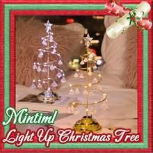 Светильник mintiml с рождественской елкой Мини Рождественская