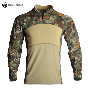 Military Uniform  Tactical Combat Shirt Us Army Clothing Tatico Tops Airsoft Multicam Camouflage Hunting FishingPants Elbow/Knee 11