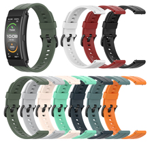 Watch-Band 3-Strap Silicone Bracelet for Huawei 6-talkband/B6/Starp Replacement 16mm