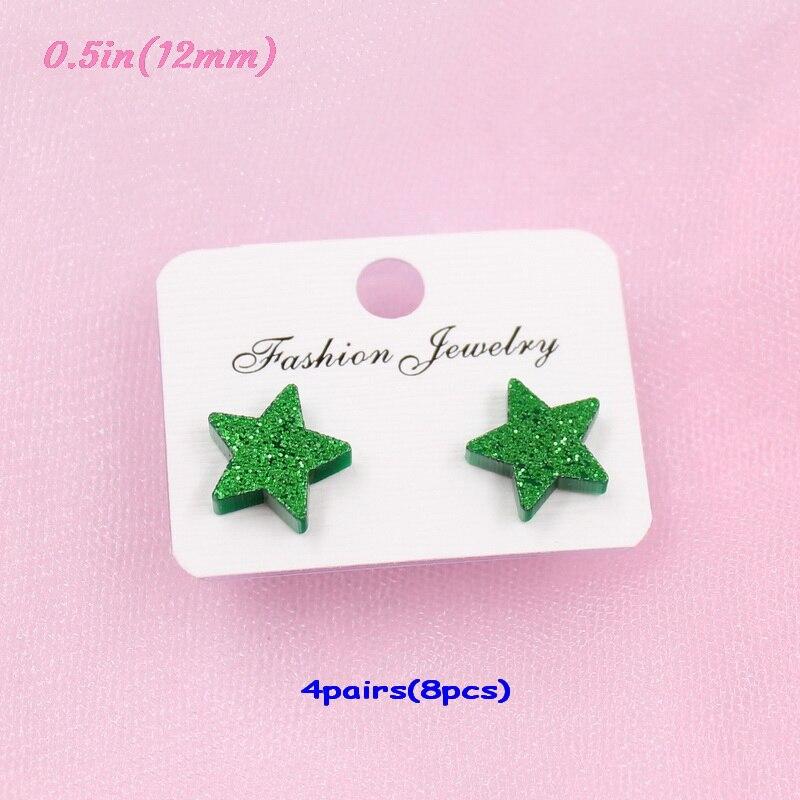 green glitter-12mm