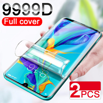 2Pcs 9999D Screen Protector Hydrogel Film For Huawei P40 P20 P30 Lite Pro Protective Film On Huawei Honor 20 10 Lite Not Glass 1