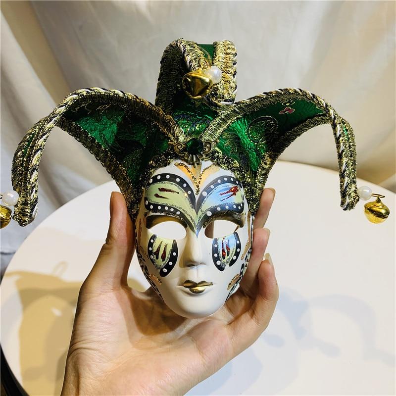 Masquerade Colorful Mini Mask Halloween Festive Party Props Wall Hang Decor Gift