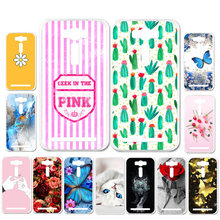 Ojeleye DIY Patterned Silicon Case For Asus Zenfone 2 Laser ZE500KL 5.0 inch Case Soft TPU Cartoon Phone Cover Anti-knock Shell(China)