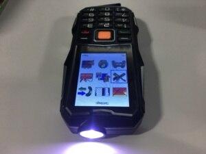 Image 2 - 2018 חדש S9 כוח בנק טלפון עמיד הלם רמקול חזק פנס Bluetooth מצלמה MP3 FM Dual SIM 2.4 אינץ טלפון סלולרי