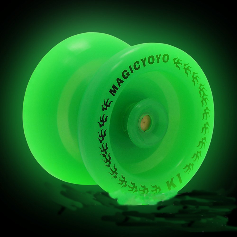 Magic Yoyo K1 Luminous Professional Yo-yo Custom Plastic Multi-color Yo-yo Children Classic Toys