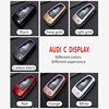 ABS Carbon Fiber Car Remote Key Case Cover For Audi A1 A3 A4 A5 A6 A7 A8 C5 C6 Q3 Q7 S3 TT Key Shell Fob Car Styling Accessories review
