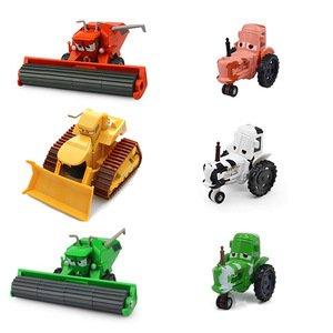 Disney Pixar Cars 2 3 Frank And Tractor Diecast Metal Alloy Car Model New Year Gift Toy for Kid Boy(China)